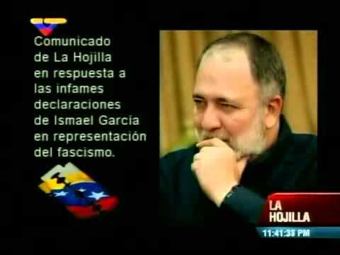 Mario Silva lee comunicado sobre audio con su voz presentado por Ismael García