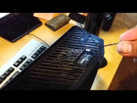 How manually eject xbox one disc