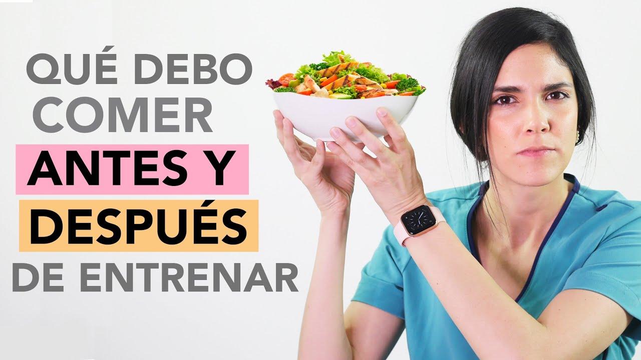 Qué comer ANTES y DESPUÉS de hacer ejercicio | Dra. Jackie - Salud en Corto