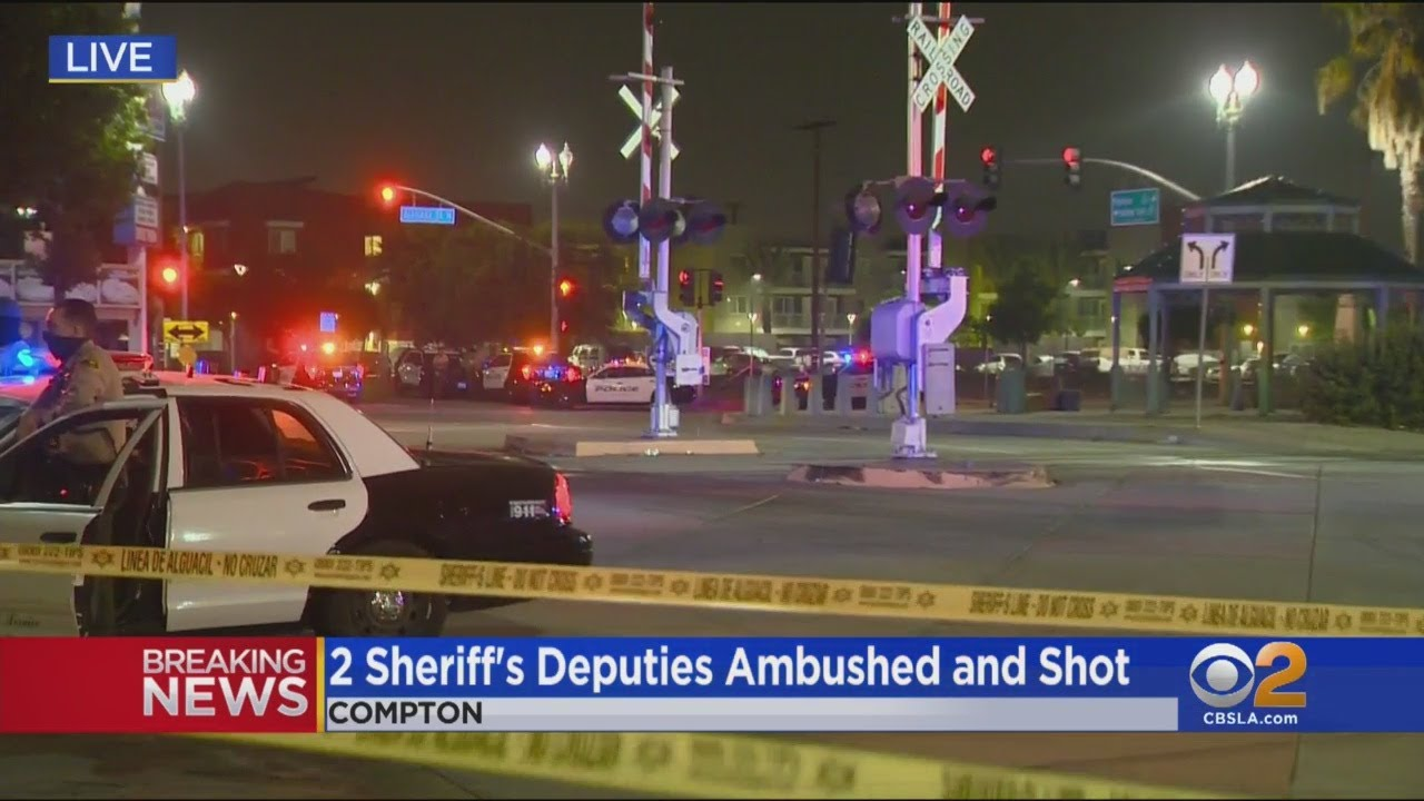 2 LA Cops, 31 and 24  Ambushed and Shot In Compton