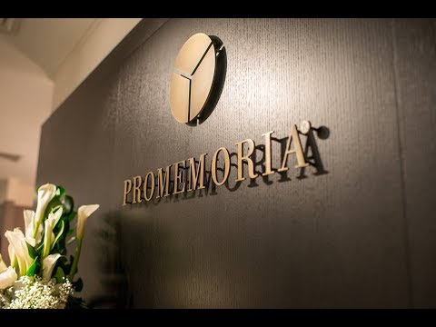 PROMEMORIA EVENT - ATELIER OF BEAUTY featuring Mr. Stefano and Mr. Davide Sozzi (May 26th, 2017)