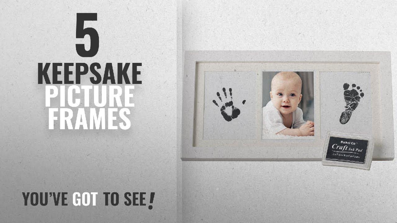 Top 10 Keepsake Picture Frames [2018]: Beautiful Baby Handprint Kit ...