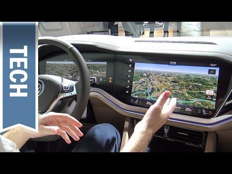 Discover Premium im VW Touareg 2018 & Innovision Cockpit im Detail