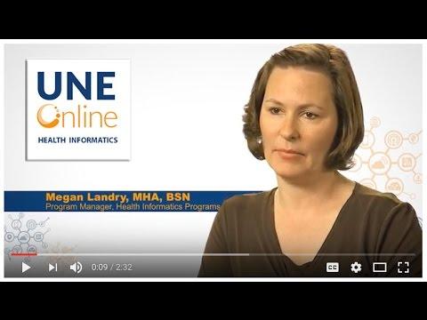 Health Informatics with UNE Online
