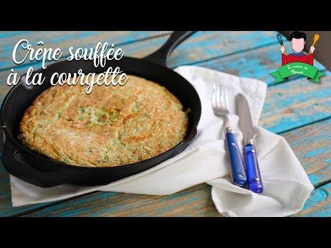 recette-de-crêpe-soufflée-à-la-courgette