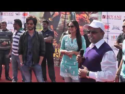 Shahid Kapoor nd Sonakshi Sinha at Biyani College, Jaipur