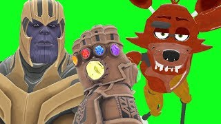 Can Thanos' INFINITY GAUNTLET Kill ANIMATRONICS from Five Nights At Freddy's in Gmod?