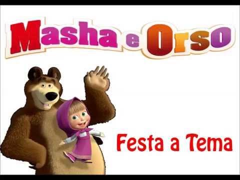 Favoloso Masha e Orso articoli per festa di compleanno a tema Piatti  SF91