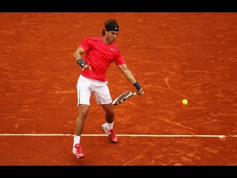 Rafael Nadal vs. David Ferrer French Open 2012 Semifinal