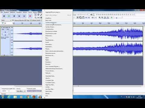 Come togliere il copyright da una qualsiasi traccia audio