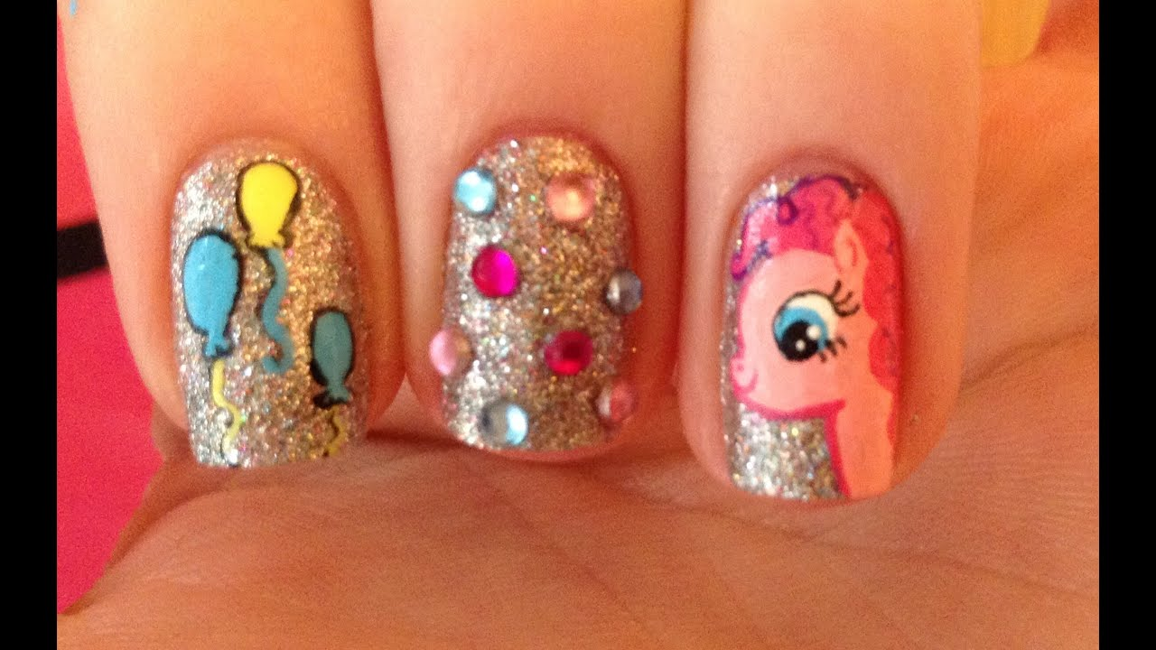 little pony nail art tutorial