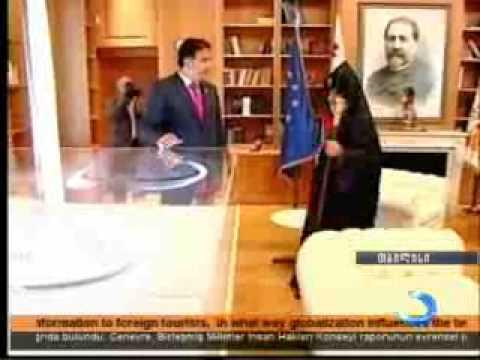 Президент Грузии принял Католикоса всех армян в президентском дворце