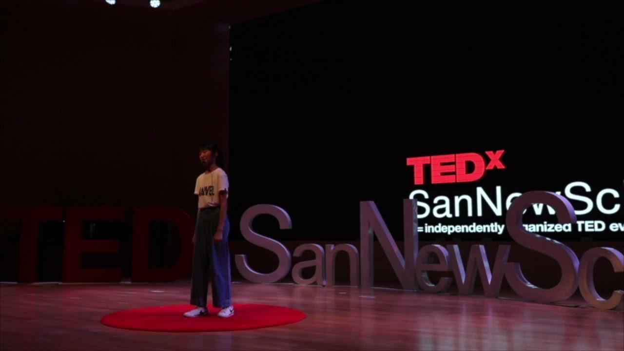 You can become a superhero | Kate Jiang | TEDxSanNewSchool