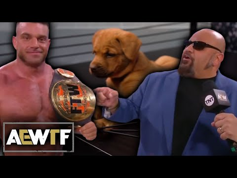 AEW Dynamite Fyter Fest Night 2 WTF Moments | Taz Debuts FTW Championship, Puppy Battle Royale
