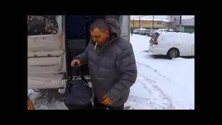 автобус ПЕЖО боксер. Его покупка в г.ТОМСК 2014г и  перегон в Тверь.