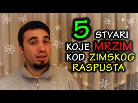 5 Stvari Koje Mrzim Kod - Zimskog Raspusta