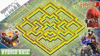 New Best TH11 Base 2019 Town Hall 11 HYBRID FARMING Base Clash of Clans 2019
