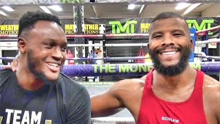 Viddal Riley & Badou Jack on fighting on the Mike Tyson vs. Roy Jones Jr. card