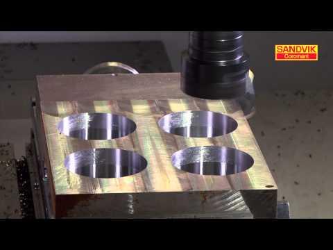 BT30 -- Coromant Capto for boring -- ISO P materials