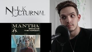Bring Me The Horizon | MANTRA | Metal Musician REACTION/REVIEW