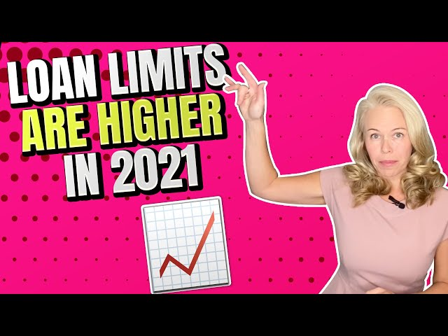 Loan Limits Are Higher In 2021 (Remember, There's No Loan limits On VA Mortgages) 🏠