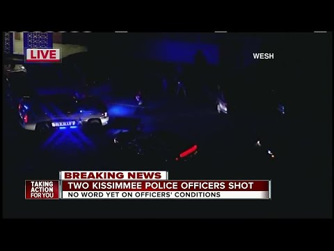 2 Kissimmee officers shot to death in Osceola Co., officials say
