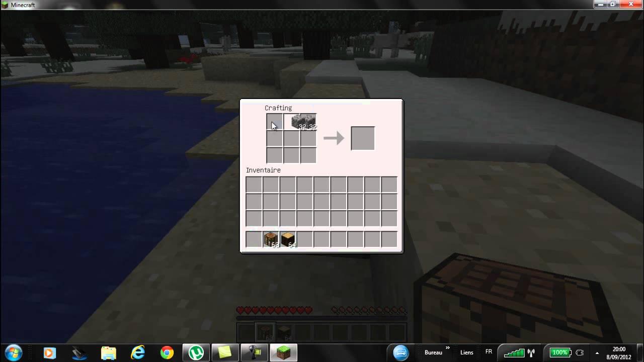 tuto comment faire du charbon facilement sur minecraft youtube. Black Bedroom Furniture Sets. Home Design Ideas