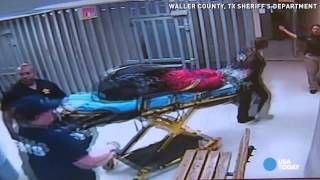 Jail video released from morning of sandra bland's death