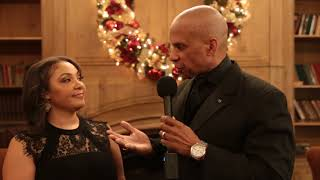 100 Black Men Parent Testimonial at 2017 Holiday Party