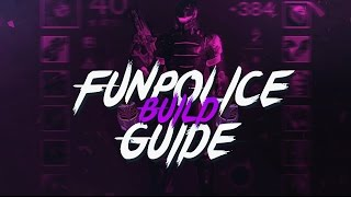 THE DESTINY FUN POLICE - DEFENDER PVP BUILD VIDEO