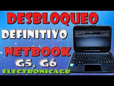 Desbloqueo definitivo Netbook del Gobierno Generación G5, G6 windows 8 2017, 2018