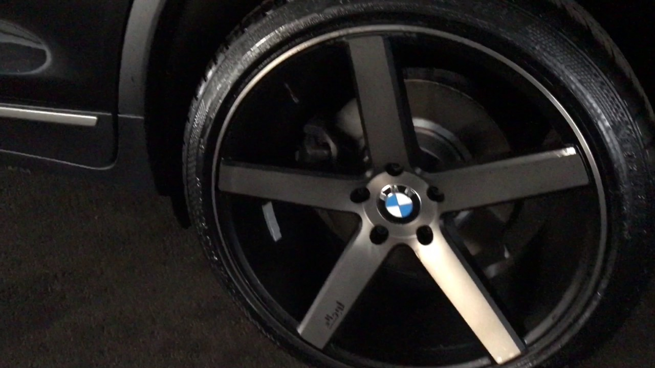 2013 Bmw X3 On 20 Rims Youtube
