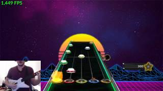 This is how I played Guitar Hero back in 2008