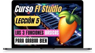 FL STUDIO Tutorial básico 5 █ Cómo grabar █ COMPONEMOS