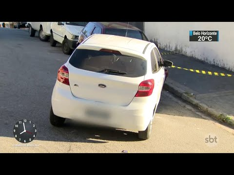 Polícia mata adolescente suspeito de roubar carro com tiro pelas costas | SBT Brasil (01/06/18)