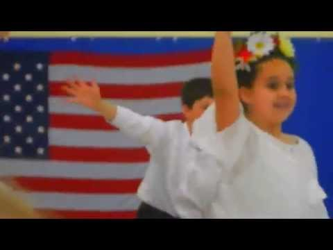 Ethan and Grade 4 Classmates perform @ Immigration Night, Amesbury Elementary School, 6/18/2015.