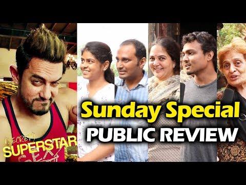 Secret Superstar PUBLIC REVIEW   4th DAY Sunday   Gaiety Galaxy Theatre   Aamir Khan, Zaira Wasim
