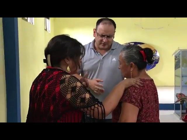 Lady healed by Jesus