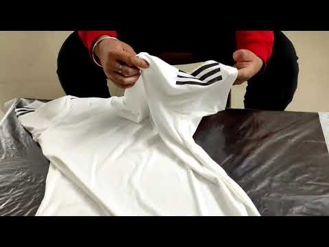 ADIDAS Men White Club 3 Stripes Solid Tennis T-Shirt Unboxing    Sports Thsirts    Adidas   