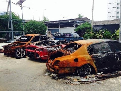 Wrecked Exotic Sports Cars For Sale