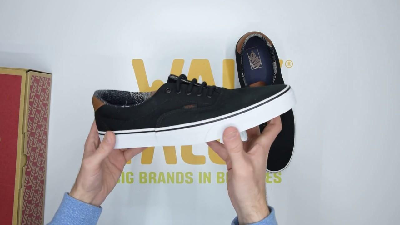a26a0f2574 Vans UA Era 59 - Black Brown - Unboxing