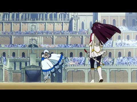 Kagura Vs Yukino Full Fight