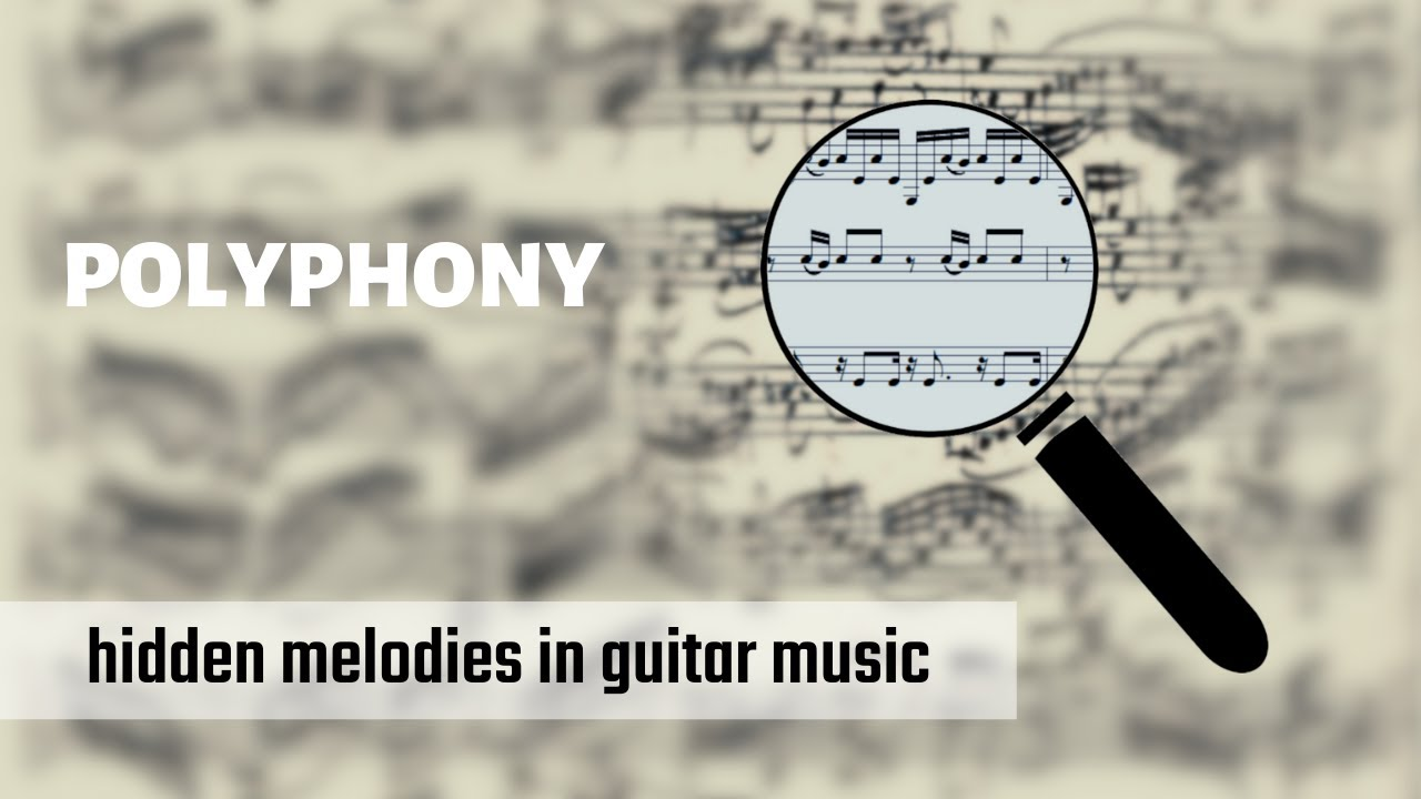 "Guitar Music Notation - finding ""hidden"" melodies in polyphonic music"