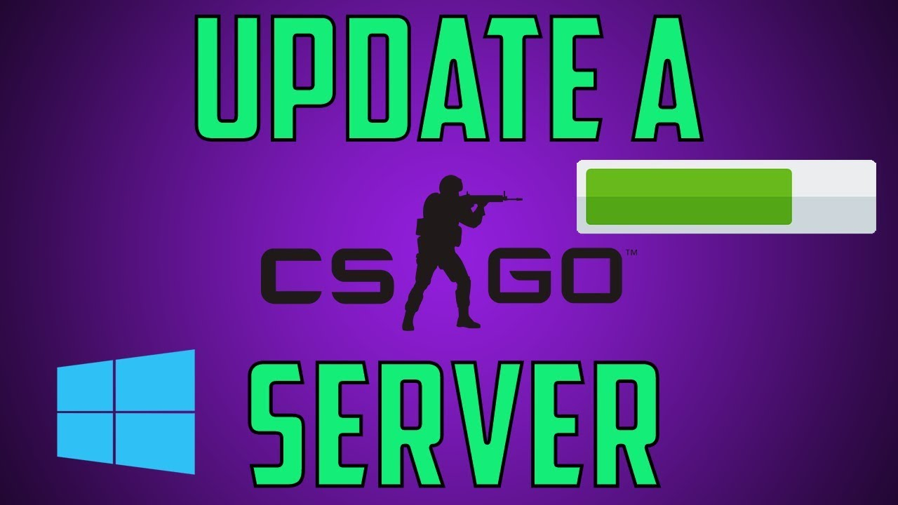Update a CS:GO Server On Windows