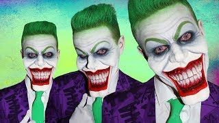Comic Joker! - Makeup Tutorial!