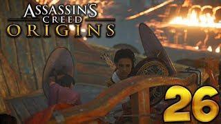 Assassin's Creed Origins. Прохождение. Часть 26 (Морское сражение)