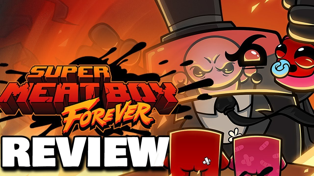 Super Meat Boy Forever Review | Nintendo Switch, PS4, Xbox One, PC (Video Game Video Review)