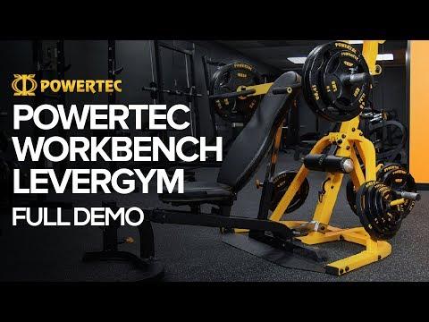 Powertec Workbench Levergym | Full Demo