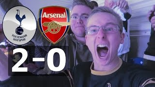 SPURS VS ARSENAL 2-0!! LIVE MATCHDAY EXPERIENCE KANE + DELE ALLI GOALS!! (UNREAL SCENES) 30/04/2017