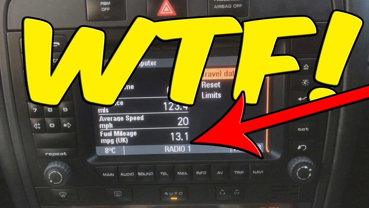 Real world MPG in my Porsche Cayenne - YouTube